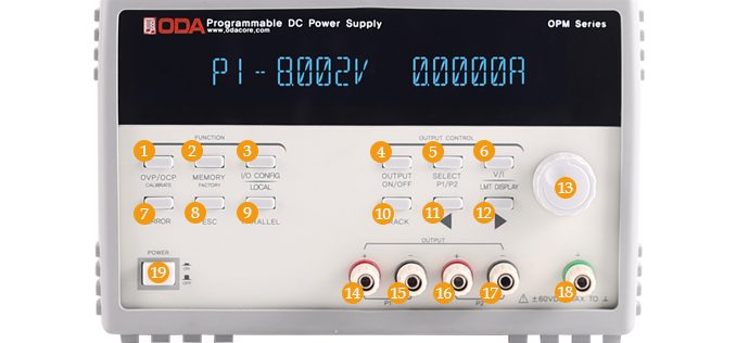 OPM Series-DCPowerSupply